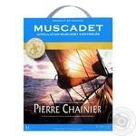 Wine Pierre chainier white dry 11.5% 3000ml France