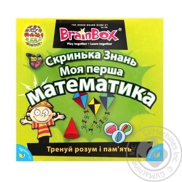 Скринька Знань Моя перша математика BrainBox 98339