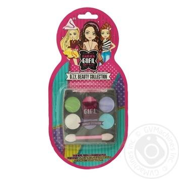Набір дитячої косметики Fashion Girl Тіні для очей