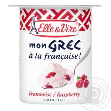 Десерт Elle&Vire Греческий с малиной молочный 8,5% 125г - купить, цены на СитиМаркет - фото 2
