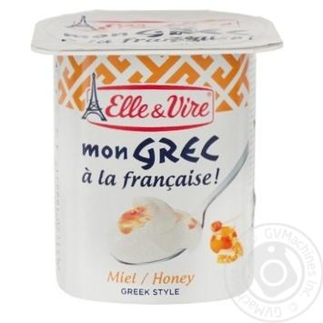 Elle&Vire Greek With Honey Milk Dessert 125g - buy, prices for MegaMarket - image 2