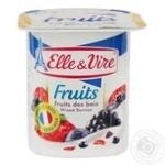 Десерт молочный Elle&Vire с лесными ягодами 125г