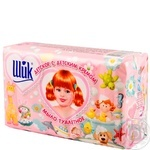 Soap Chic with cream 5pcs 350g Ukraine