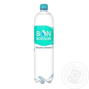 Вода минеральная Bon Boisson слабогазированная 1л