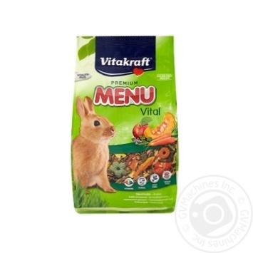 Корм Vitakraft Menu для кроликов 500г - купить, цены на УльтраМаркет - фото 1