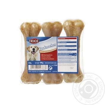 Кістка для собак Trixie 2788 пресована 11см 100г 3шт - купити, ціни на Восторг - фото 1