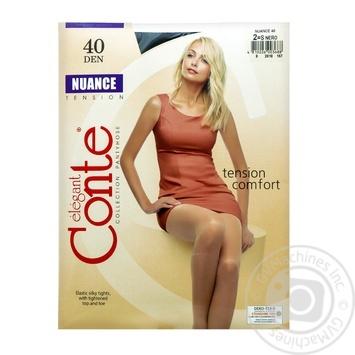 Колготи Conte Nuance 40 Den р.2 nero шт - купити, ціни на Novus - фото 1