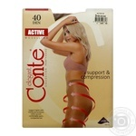 Conte Active 40 Den Bronz Tights for Women Size 3 - buy, prices for CityMarket - photo 3