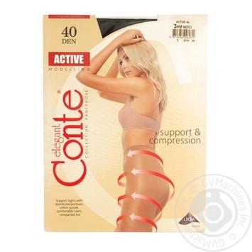 Колготи жіночі Conte Active 40ден р.3 Nero - купити, ціни на CітіМаркет - фото 4