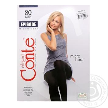 Колготы Conte Episode 80 Den р.2 mocca шт - купить, цены на Novus - фото 1