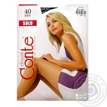 Conte Solo 40 den Nero Tights for Women Size 4 - buy, prices for CityMarket - photo 6