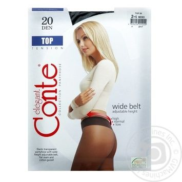 Conte Top 20 den Nero Tights for Women Size 2 - buy, prices for CityMarket - photo 6