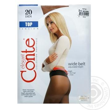 Колготы Conte Top 20 Den р.2 natural шт - купить, цены на Novus - фото 1