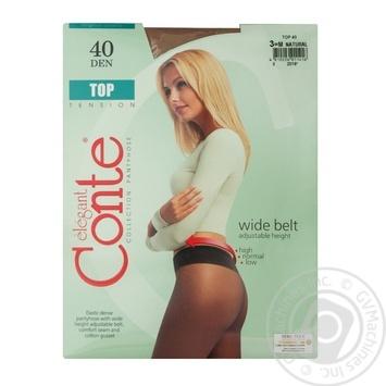 Колготы Conte Top 40 Den р.3 natural шт - купить, цены на Novus - фото 1
