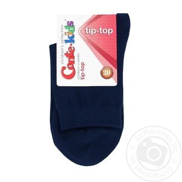 Носки детские Conte Kids Tip-Top темно-синие размер 20