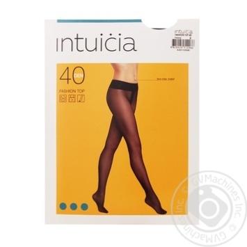 Колготи жіночі Інтуіція Fashion Top 40 2 black - купить, цены на Novus - фото 1