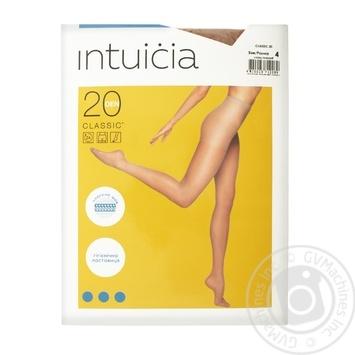 Колготки жіночі Intuicia Classic 20 den 4 тілесні - купити, ціни на Novus - фото 1