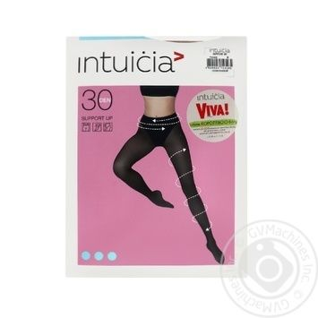 Tights Intuitsia corporal for women 30den 4size - buy, prices for Novus - image 1