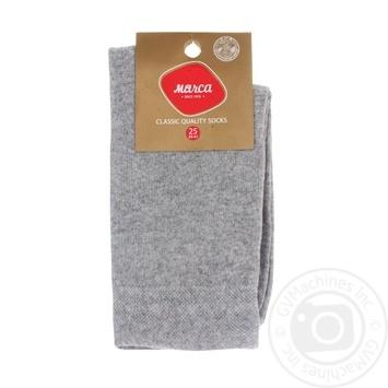 Шкарпетки чоловічі подвійний борт Marca Comfort розмір 25 арт.М103L - купить, цены на Novus - фото 1