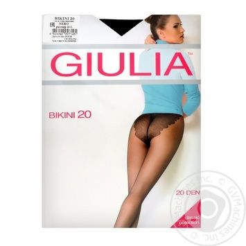 Колготи Giulia Maya Bikini 20 nero 4 - купить, цены на Novus - фото 1