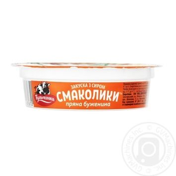 Appetizer Tulchynka with 	baked ham chilled for sandwich 90g - buy, prices for MegaMarket - image 2
