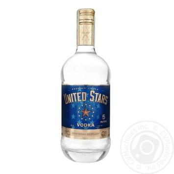United Stars Ise vodka 40% 0,7l