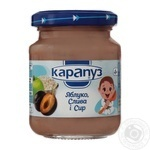 Puree Karapuz apple-plum for children 125g