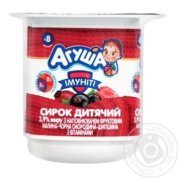 Сырок детский Агуша Иммунит 3,9% 100г - купить, цены на Фуршет - фото 1