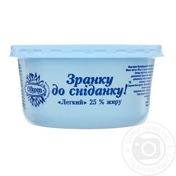 Маргарин Олком С утра до завтрака легкий 25% 480г - купить, цены на Ашан - фото 1