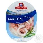 Коктейль из морепродуктов Санта Бремор в заливке 200г - купить, цены на Таврия В - фото 1