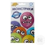 Veselaja Zateja Monsters Latex Balloon Set 5pc