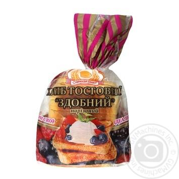 Хлеб Формула вкуса тостовый сдобный нарезанный 250г