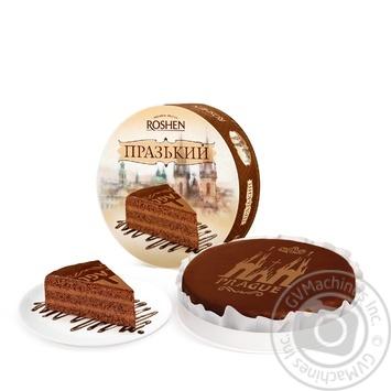 Торт Roshen Пражский 850г - купить, цены на Novus - фото 1