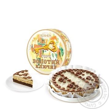 Торт Roshen Золотий ключик 450г - купити, ціни на Novus - фото 1