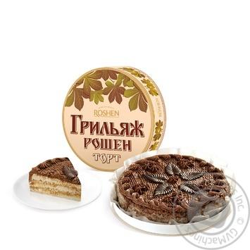 Торт Roshen Трюфельный 850г - купить, цены на Novus - фото 1