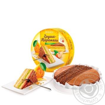 Торт Рошен Груша-карамель 850г - купить, цены на Novus - фото 1