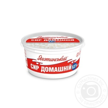 Cottage cheese Yagotynsky Homemade 9.5% 370g - buy, prices for Furshet - image 3