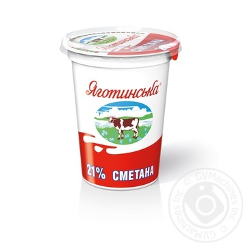 Yagotynske Souce Cream 21% 350g