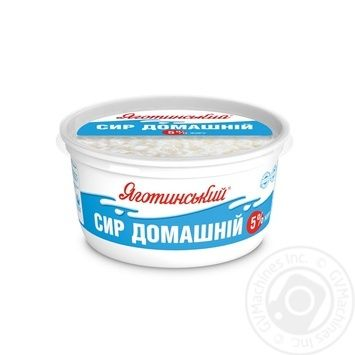 Yagotynsky Homemade Cottage Cheese 5% 370g