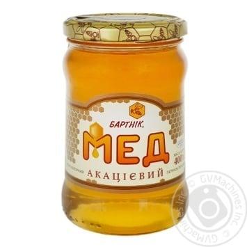 Мед акациевый 400г Бартник - купить, цены на МегаМаркет - фото 1