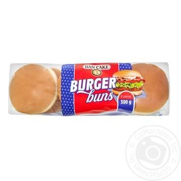 Булочки Dan Cake для гамбургеров 6шт, 300г - купить, цены на Метро - фото 1