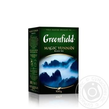 Tea Greenfield black 100g - buy, prices for MegaMarket - image 1