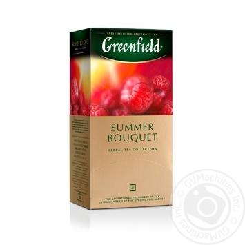 Чай Greenfield трав'яний Summer Bouquet  25шт*2г - купити, ціни на Метро - фото 1