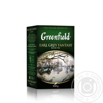 Чай чорний Greenfield Earl Grey Fantasy с бергамотом 100г - купити, ціни на Метро - фото 1