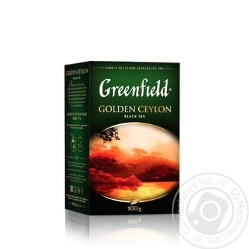 Greenfield Golden Ceylon Black Tea - buy, prices for Novus - image 1