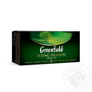 Чай зеленый Greenfield Flying Dragon 25шт 2г - купить, цены на Novus - фото 1