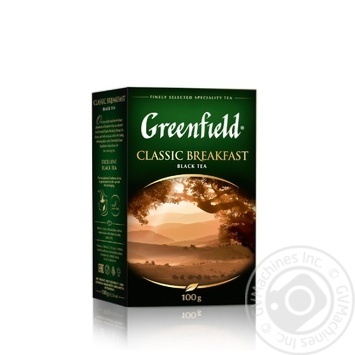 Greenfield Classic Breakfast Black Tea - buy, prices for Novus - image 2