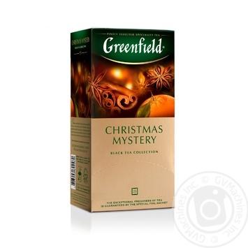 Чай Greenfield черный Christmas Mystery 25шт*1.5г - купить, цены на Метро - фото 6