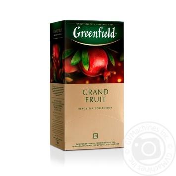 Greenfield Grand Fruit black tea 25pcs*1.5g - buy, prices for Metro - image 1
