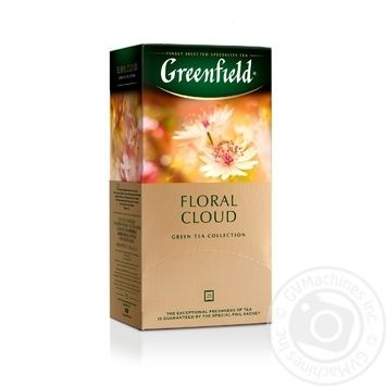 Greenfield Floral Cloud Оolong Tea 25pcs 1,5g - buy, prices for Novus - image 1